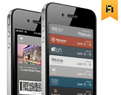 Starwood Hotels Apple Passbook Launch