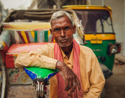 Indian Rickshaw Drivers