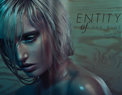 Entity of THE BLUE - SYN Magazine