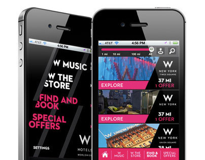 W Hotels Worldwide iPhone App