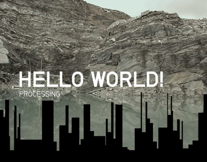Pixels per Seconds / Hello World Processing