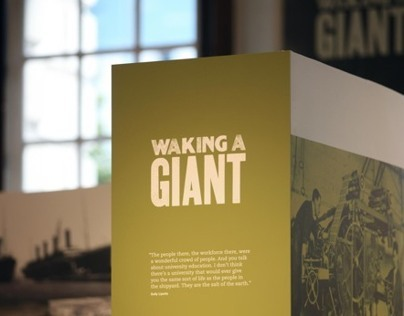 Waking a Giant Exhibition, Belfast City Hall
