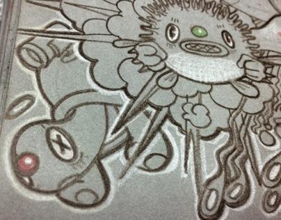 2012 SKETCH BOOK_Just a Color Pencil & Pen