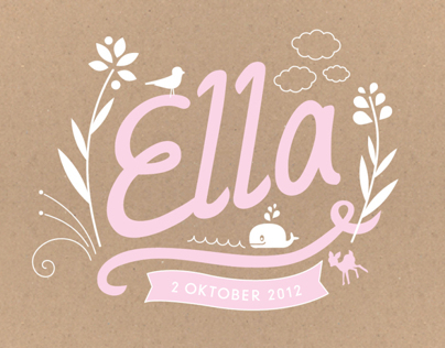 Ella | Birth announcement