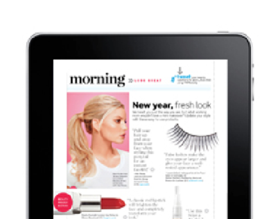 iPad for Working Mother Magazine