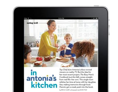 Parents Magazine iPad / Kindle