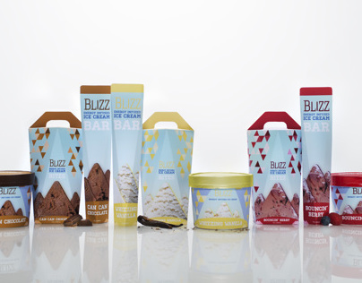 Blizz - Energy Infused Ice Cream
