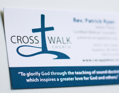 Cross Walk Church Logo Design