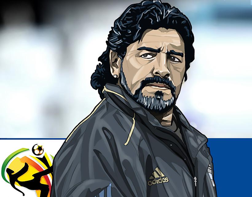 Maradona Comic