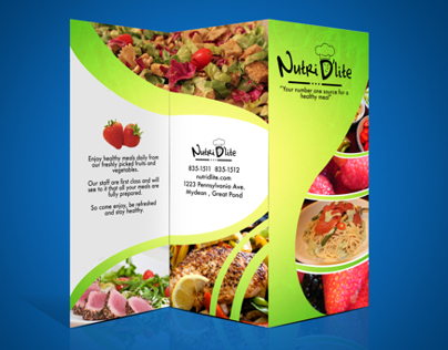 Nutri Dlites Brochure & business card
