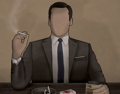 Mad Men - Don Draper illustration