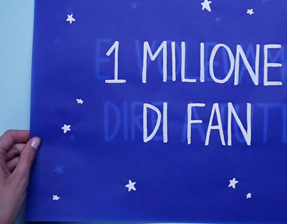 Baci Perugina 1 million fan.