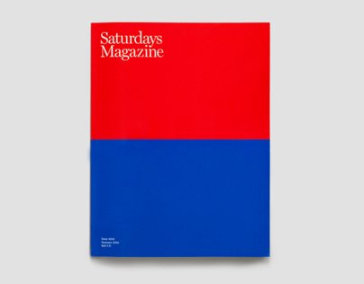Saturdays Magazine Issue #001