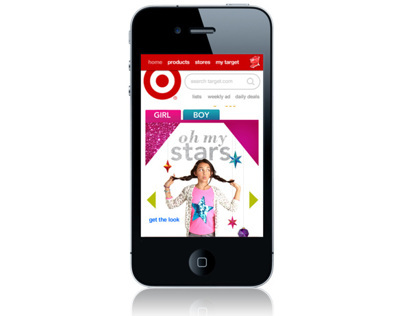 Target Holiday Fashion Mobile