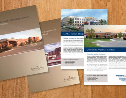 BremnerDuke Healthcare Real Estate Marketing Materials