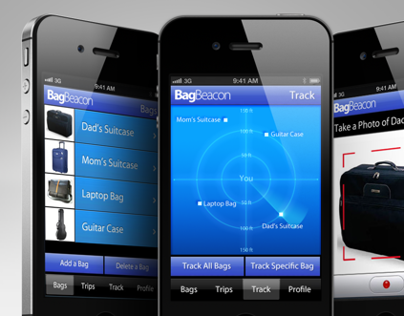 Bag Beacon - Baggage Tracking Mobile App