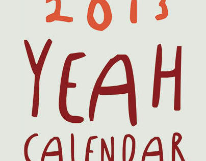 2013 YEAH CALENDAR (national calendar awards) winner!