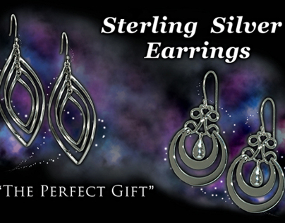 BJ's Sterling Silver Earrings Pallet