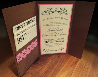 Wedding Invitation and Program