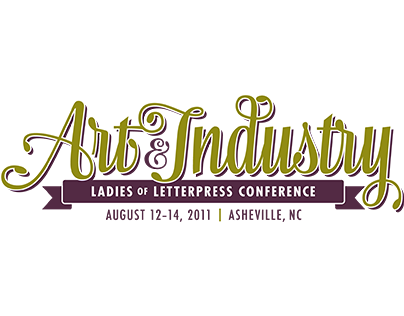 Art & Industry | Ladies of Letterpress Conference Logo