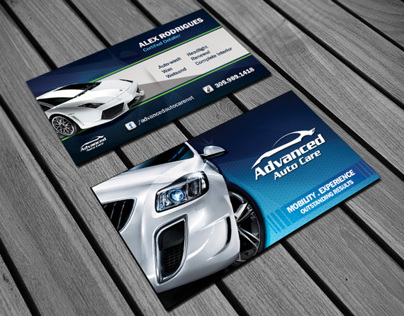 Business Card - Advanced Auto Care