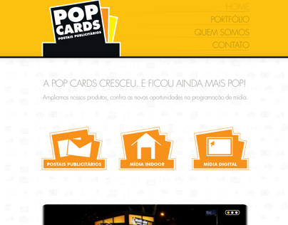 POP CARDS - Postais Publicitários