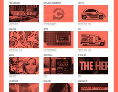 Necon Creative Agency / Website