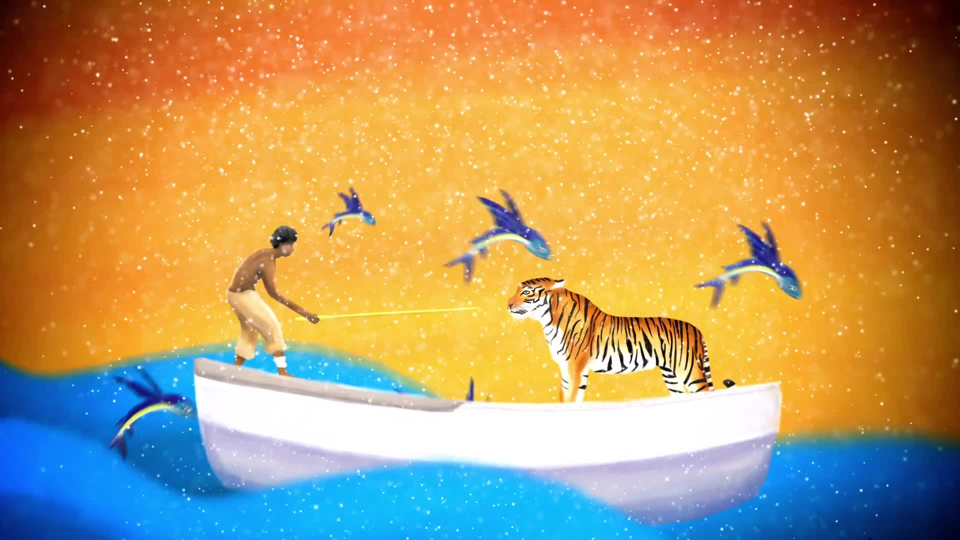 Life of Pi - Title Animation