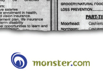 Monster.com Print Ad