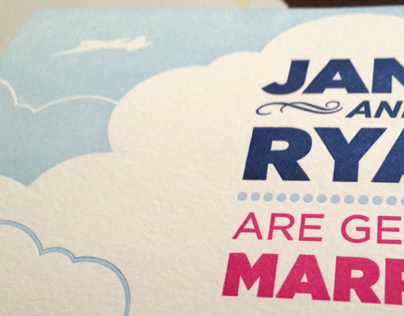 Jamie and Ryan - Wedding Invites