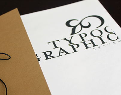 Typographic System - Book