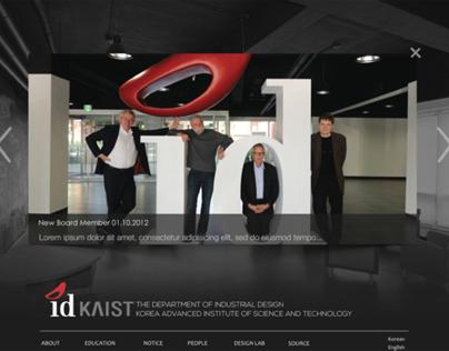 idKAIST Web Renewal 2012