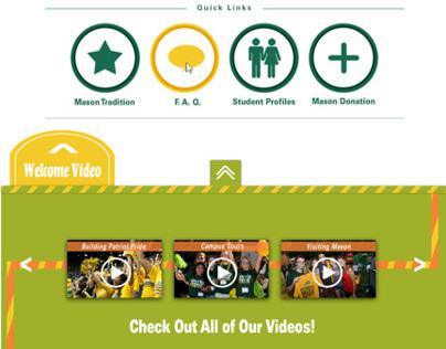 Website Redesign for George Mason University