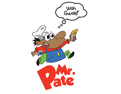 Branding Mock up for Mr.Pate