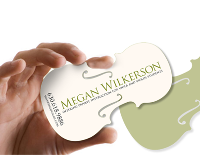 Viola Instructor Business Card