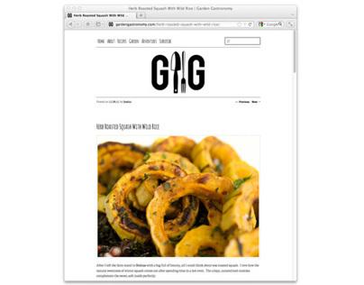 Garden Gastronomy Site