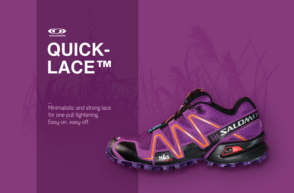 Salomon mock up adverts