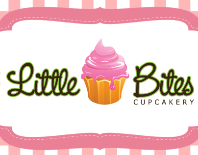 Little Bites Cupcakery Logo