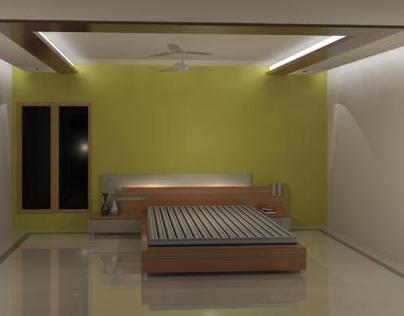 Private Residence -3, Ceiling & Floor Detail, Hyderabad