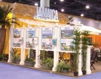 Tradeshow Booth for country of Jamaica