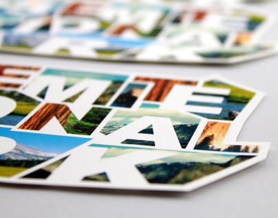 Yosemite National Park Magazine Ad and Postcard