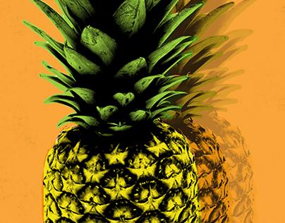 Pineapple Pop Art