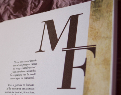 Martín Fierro - Book Design