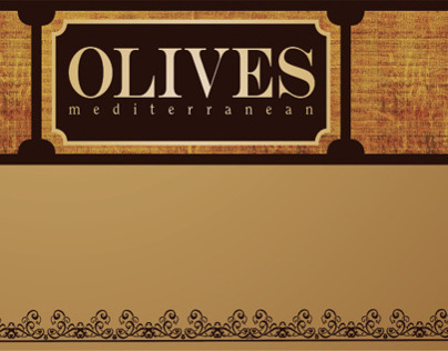 Olives Mediterranean (menu)
