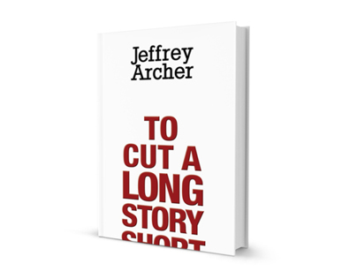 Book Cover Design - To Cut A Long Story Short