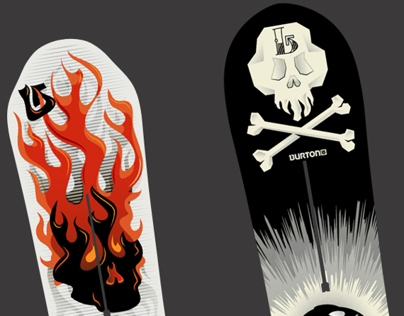 Burton Snow Boards