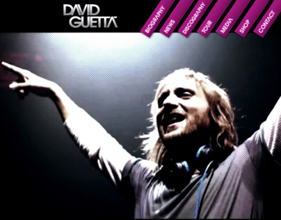 Website David Guetta
