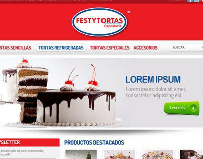 Festytortas website
