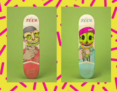Mask Series — Peek Skateboards Pro Models