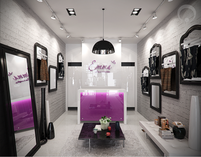 fashion showroom concept
